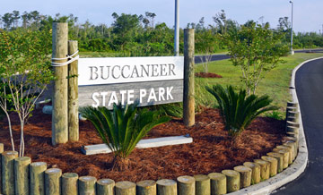 buccaneer state park family adventure