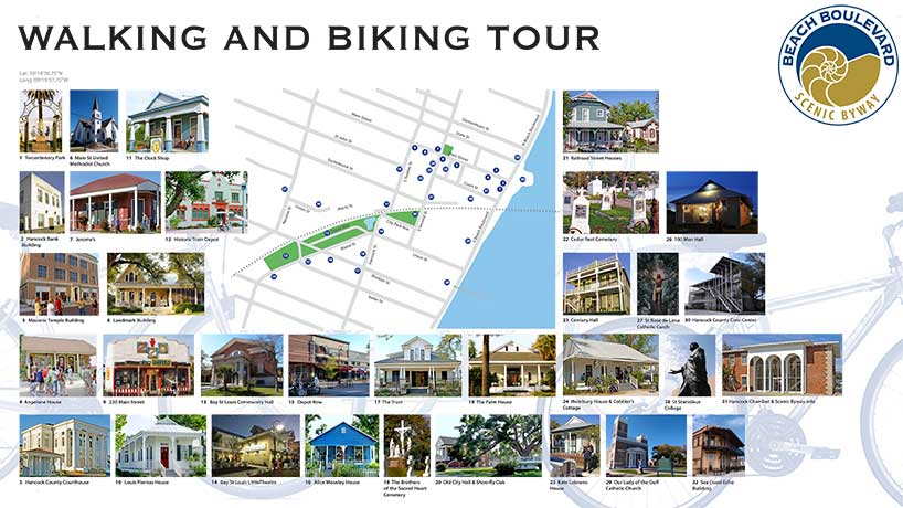 walking and biking tour