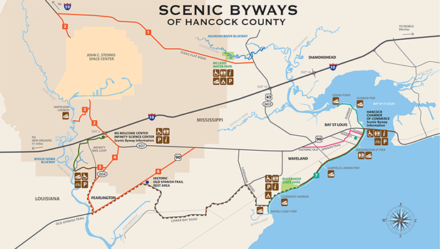 byways map