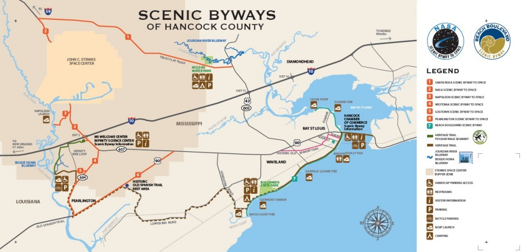 map scenic gulf trails outdoors
